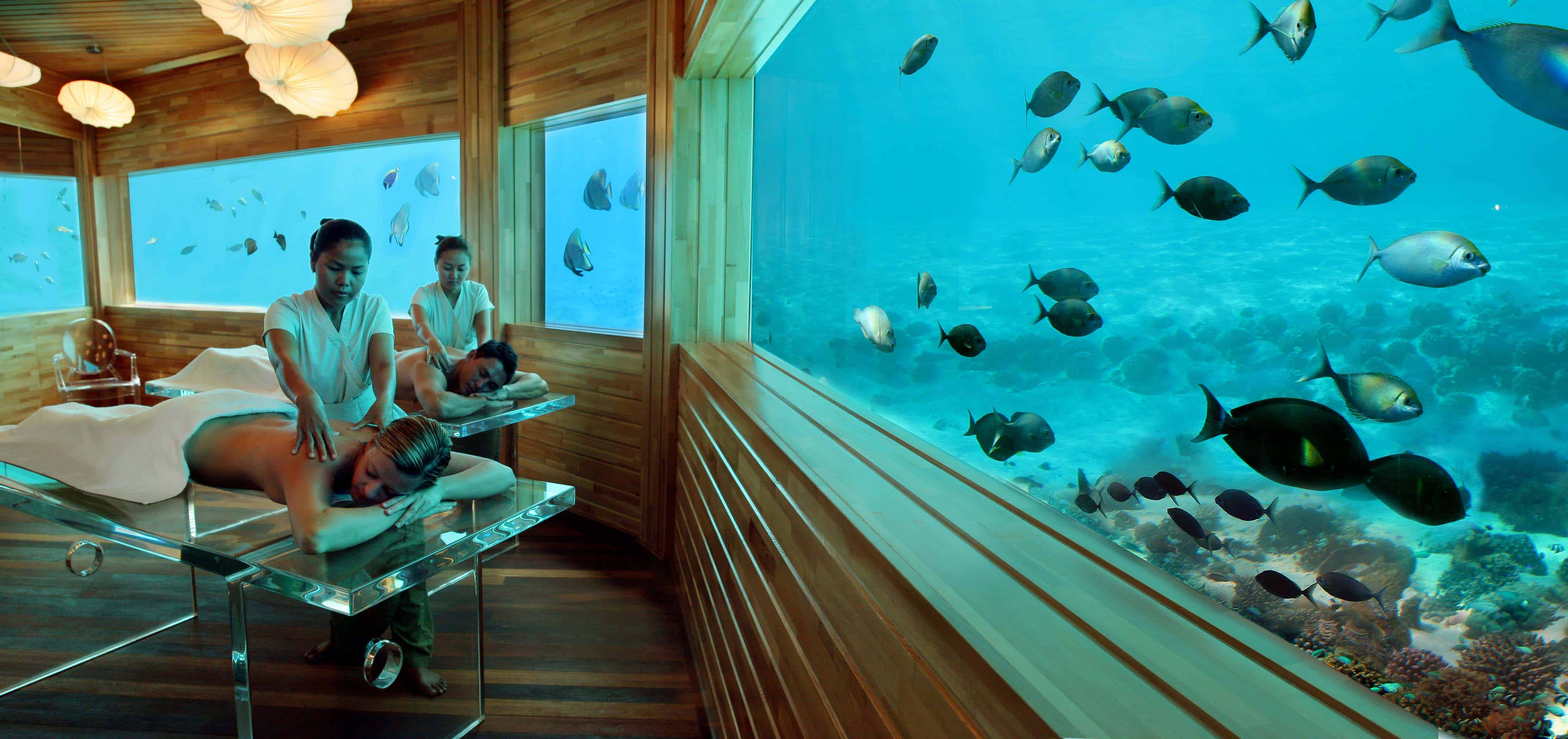 Huvafen Fushi Maldives – underwater hotel