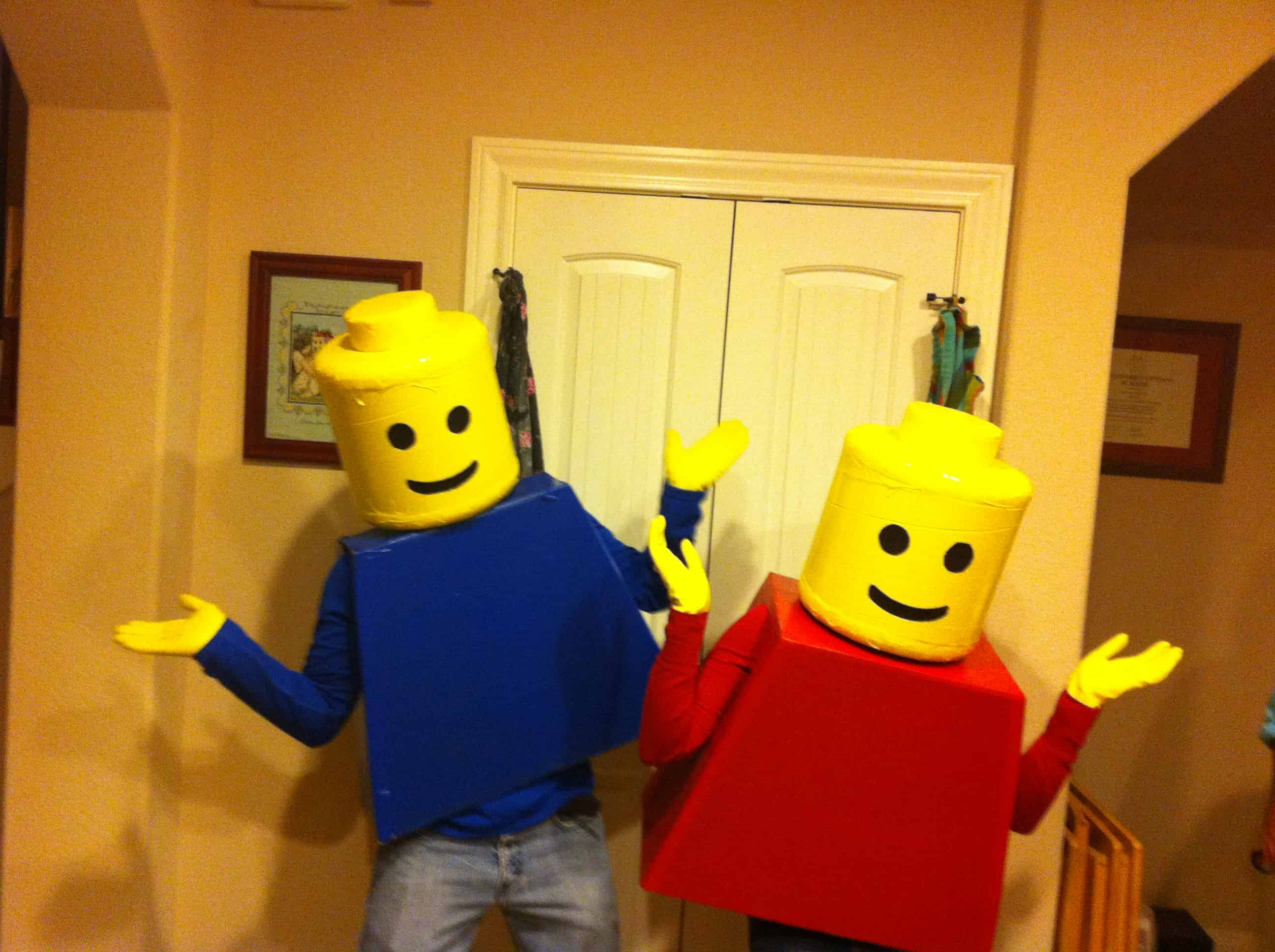 Lego – halloween costume idea