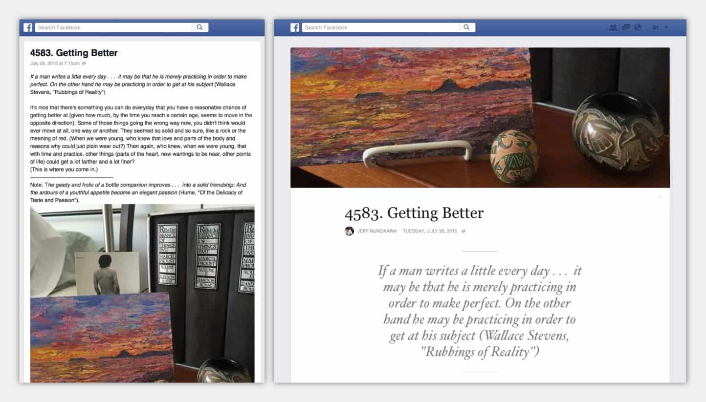 Make a Grand Post – facebook trick