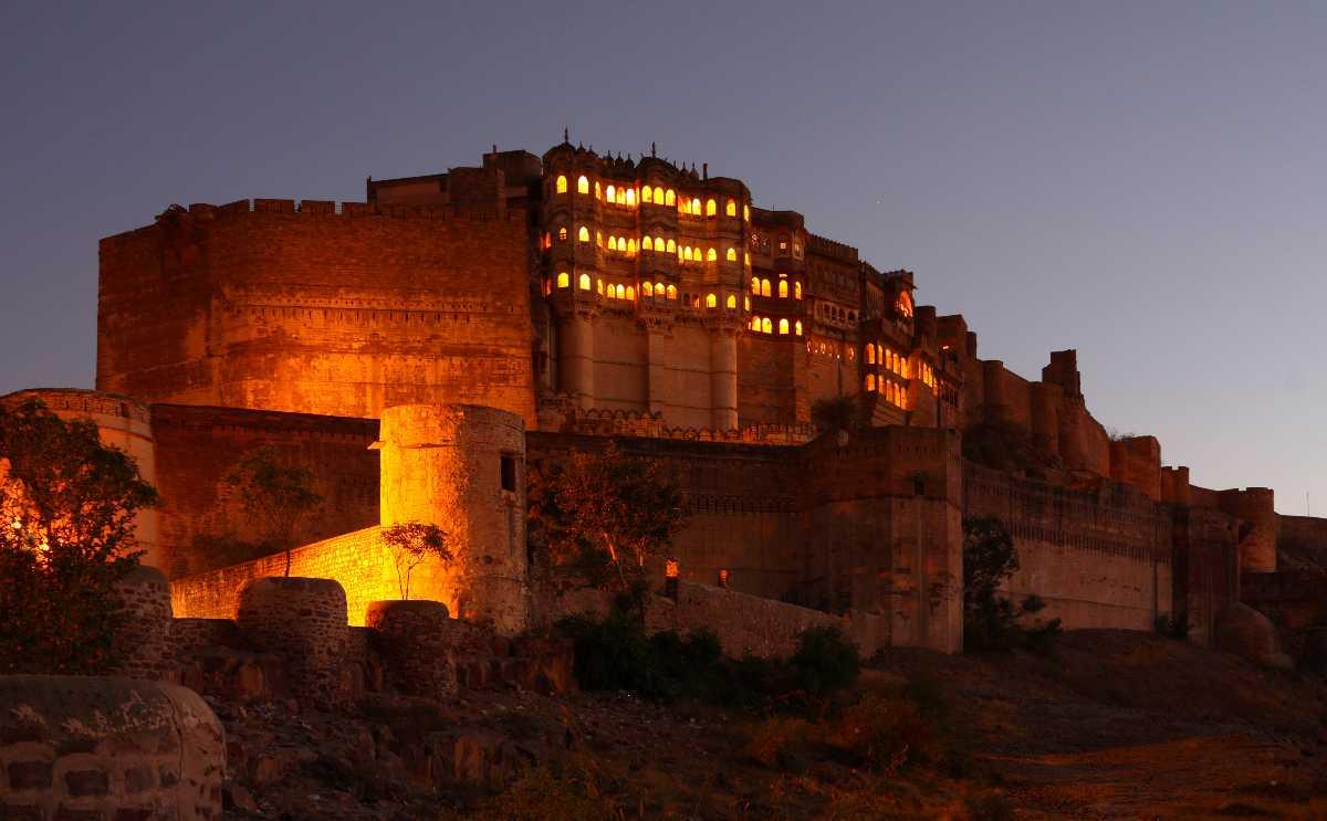 Mehrangarh Fort – largest building