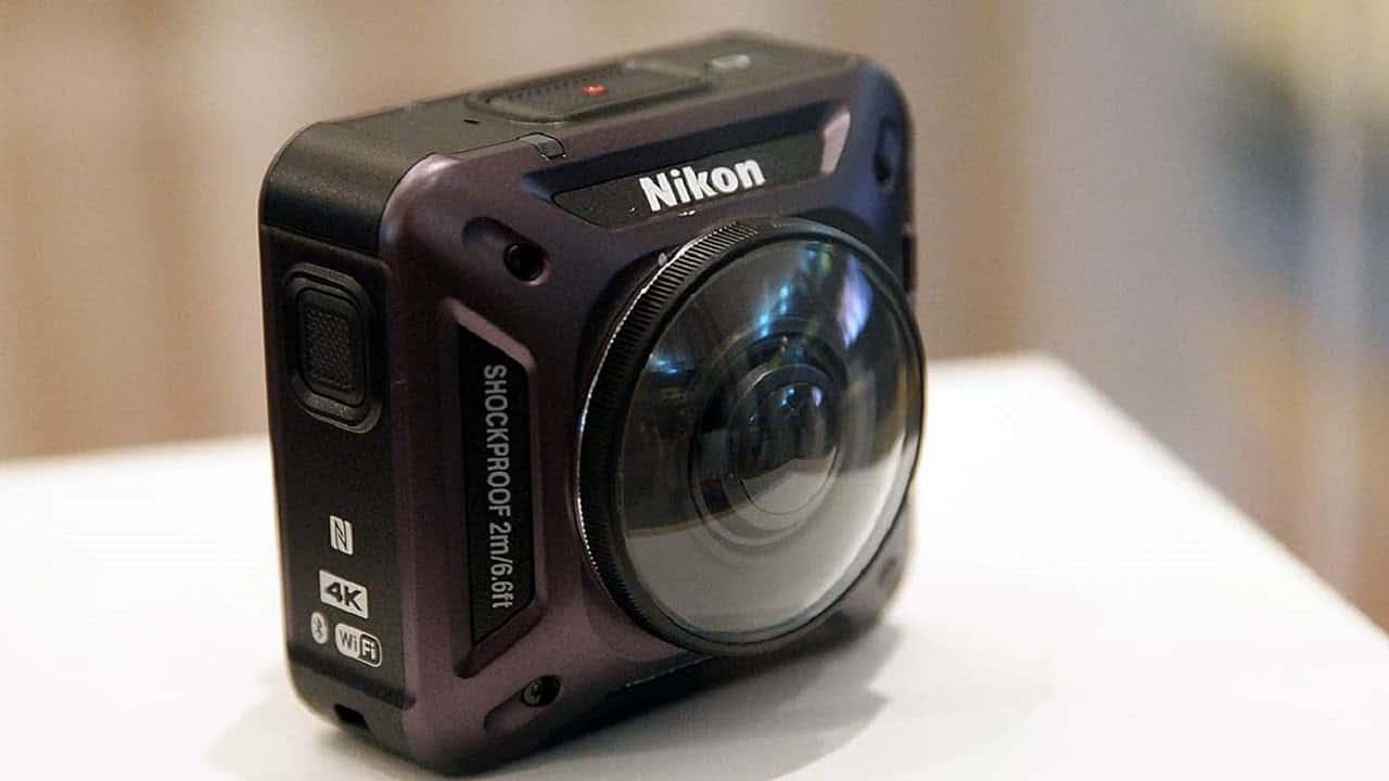 Nikon KeyMission 360 4K Action Cam – waterproof camera