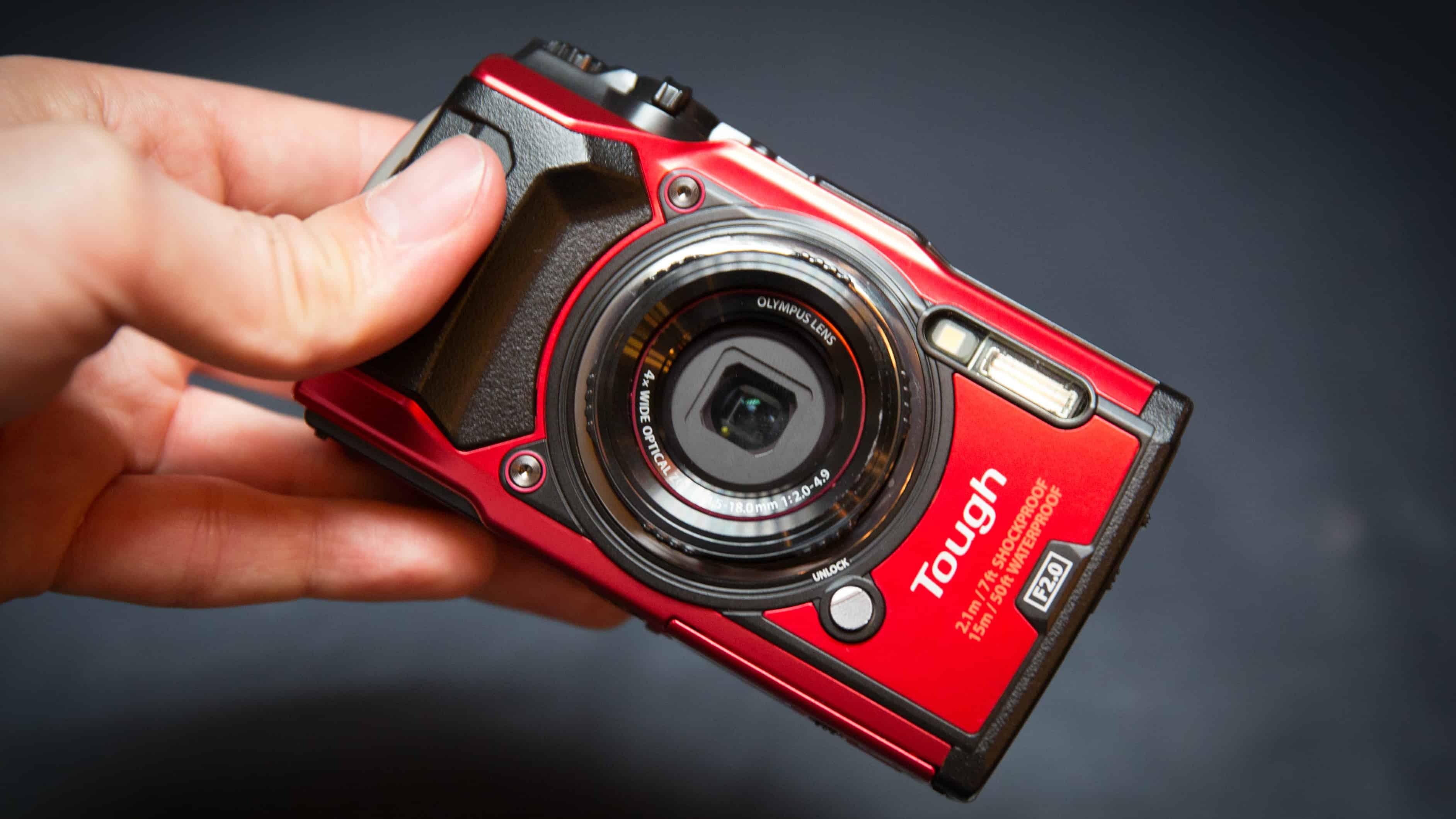 Olympus Tough TG-5 – waterproof camera