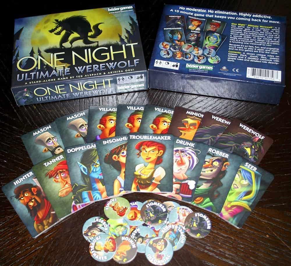 One Night Ultimate Werewolf – board game