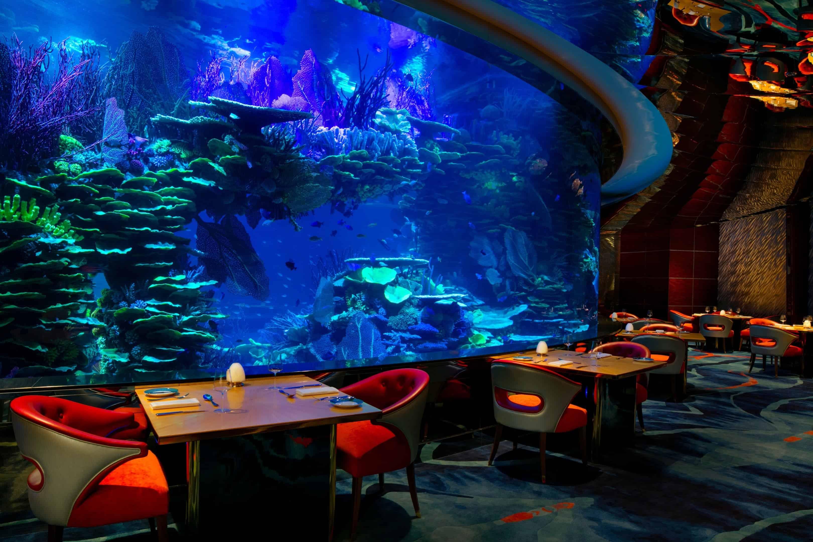 Outlaw's At Al Mahara, Dubai – underwater hotel