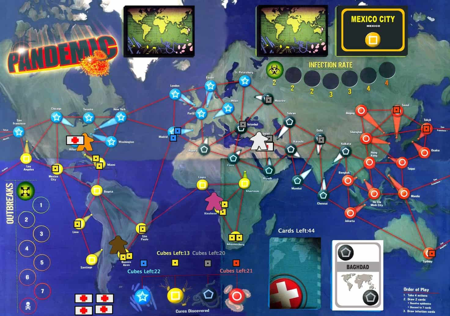 Pandemic – board game