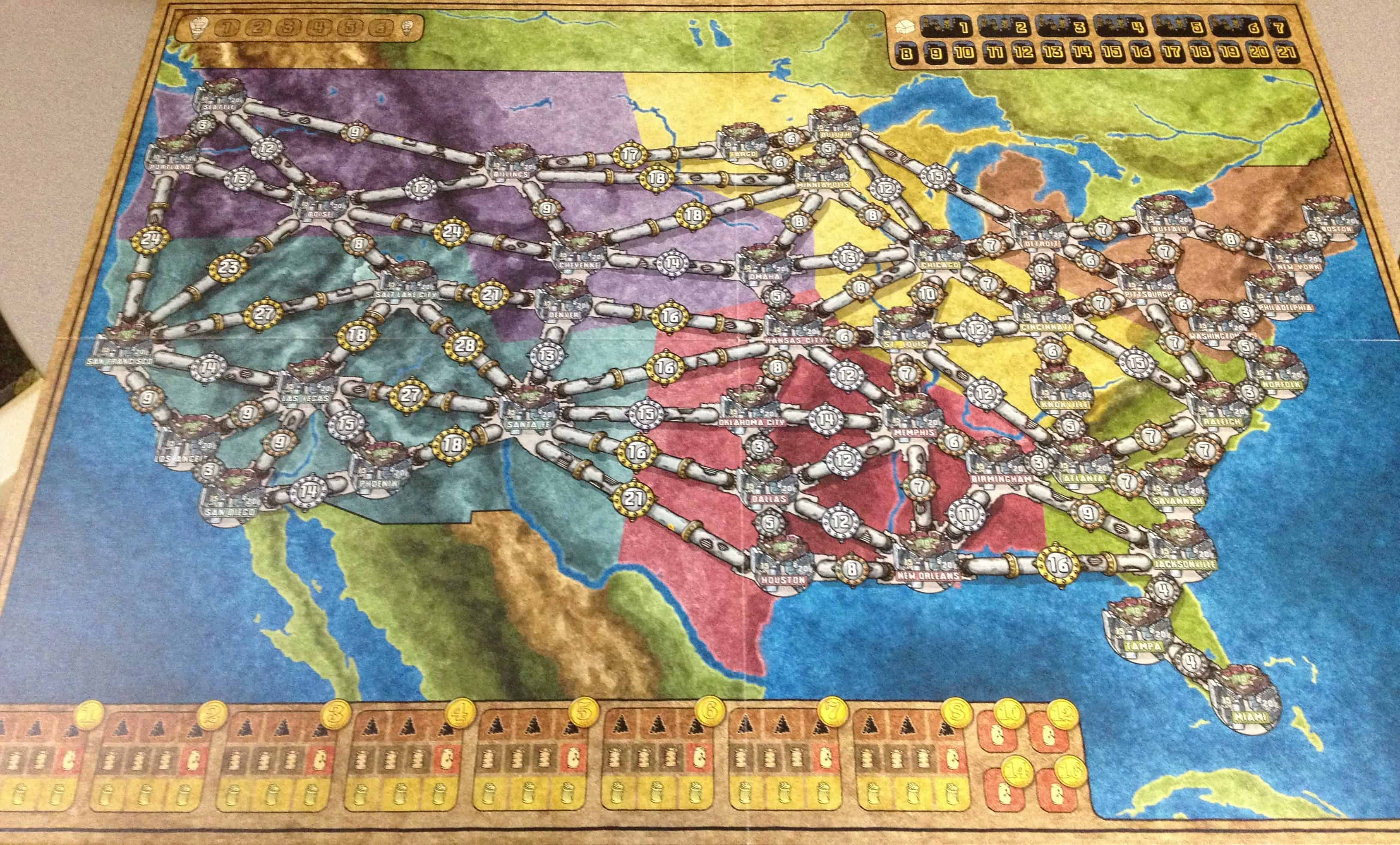 Power Grid – board game
