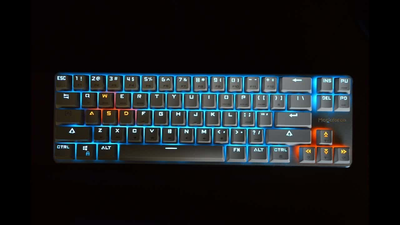 Qisan Magicforce 68 Gaming Keyboard – mechanical keyboard