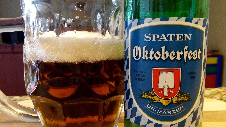 Spaten Oktoberfestbier Ur-Märzen – oktoberfest beer