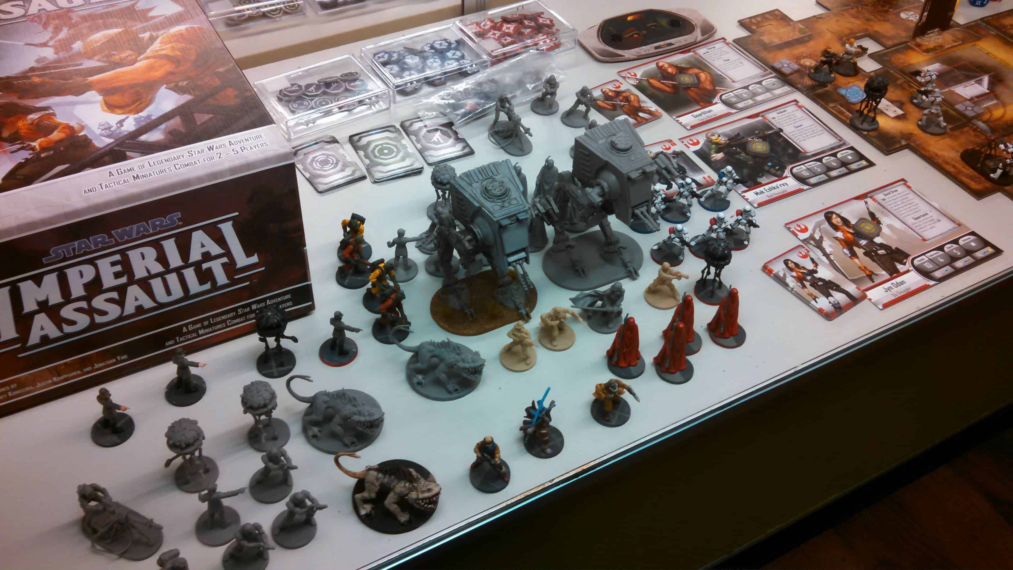 Star Wars Imperial Assault – board game