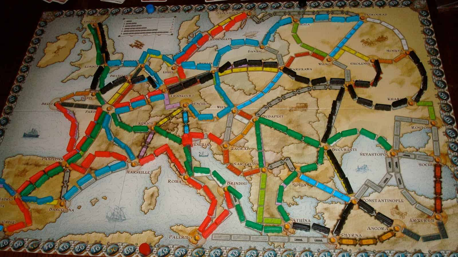 Ticket to Ride – board game