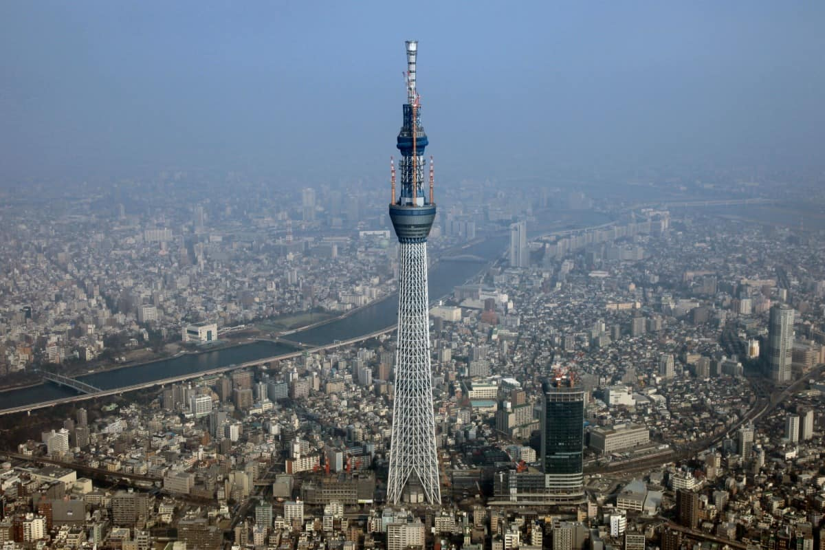 Tokyo Skytree – largest building