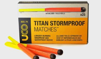 UCO Titan Stormproof Matches start a fire 345x200 Blaze On With The 14 Best Ways to Start a Fire