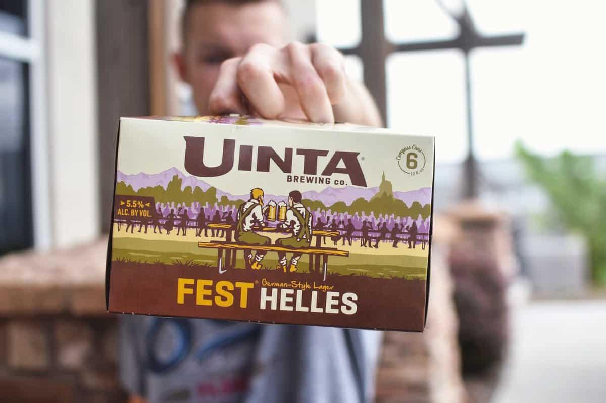 Uinta Fest Helles – oktoberfest beer