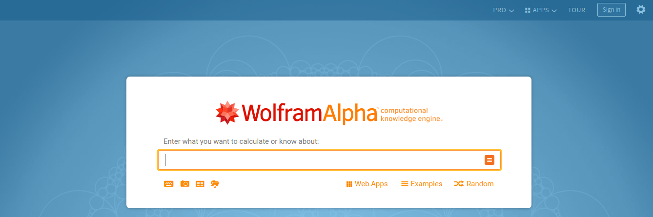 Wolframalpha – useful website