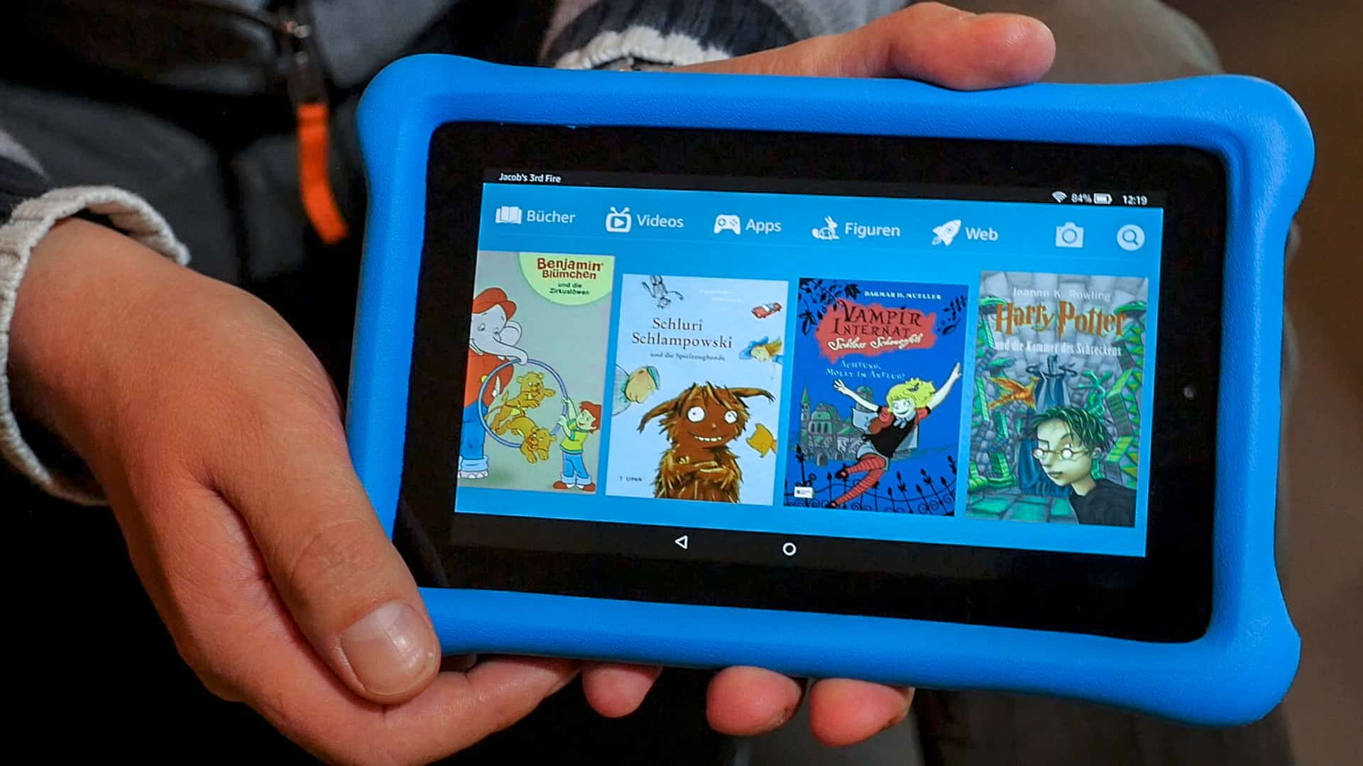 Amazon Fire HD 8 Kids Edition – tablet computer