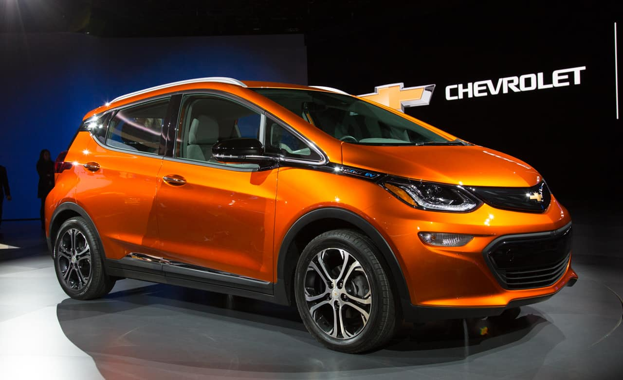 Chevy Bolt EV – electric car