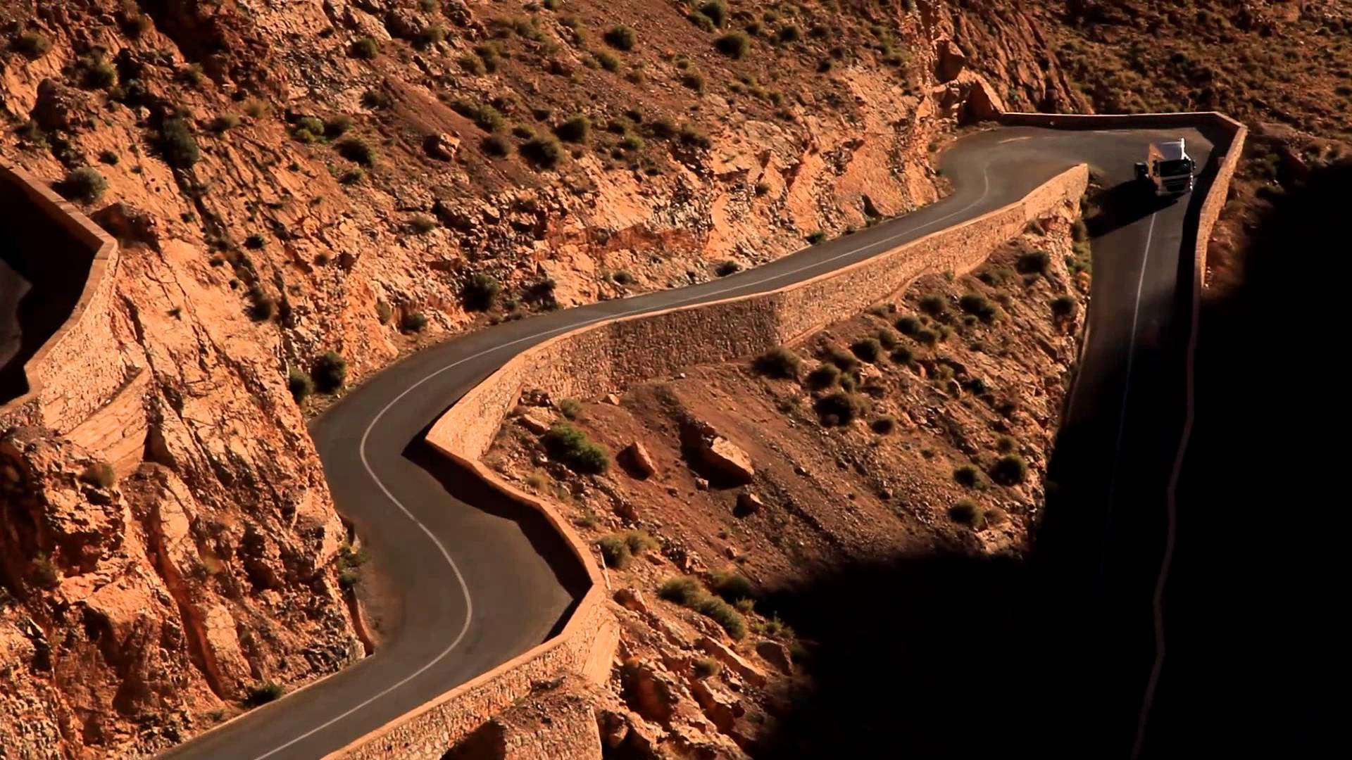 Dadès Gorges Pass, Morocco – road to drive