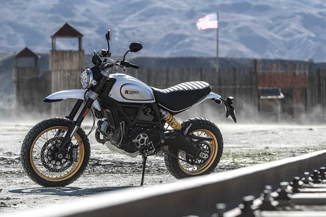Ducati Scrambler Desert Sled – dual sport motorcycle
