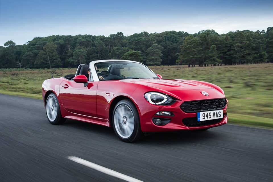 Fiat 124 Spider convertible 2 960x640 Drop the Top with The 13 Best Convertibles
