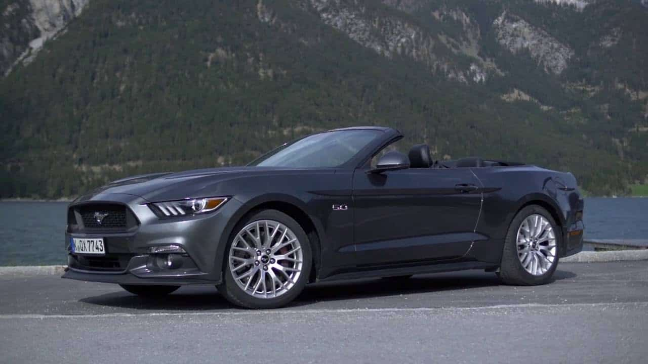 Ford Mustang – convertible
