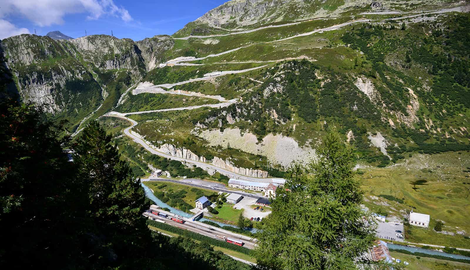 Furka Pass, Switzerland – road to drive