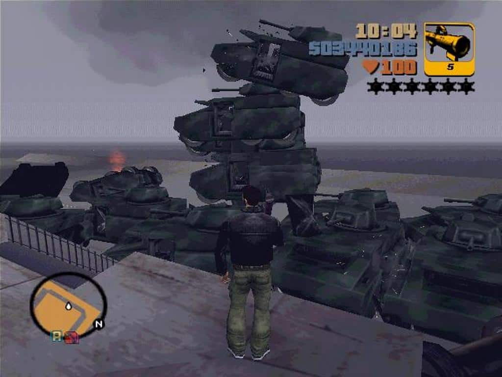 Grand Theft Auto 3 – important video game
