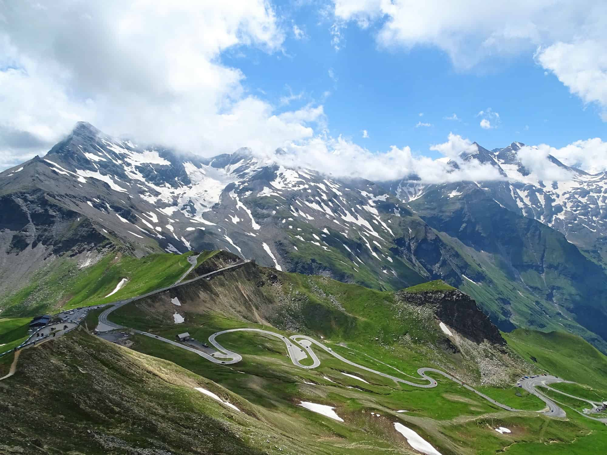 Grossglockner Hochalpenstrasse, Austria – road to drive