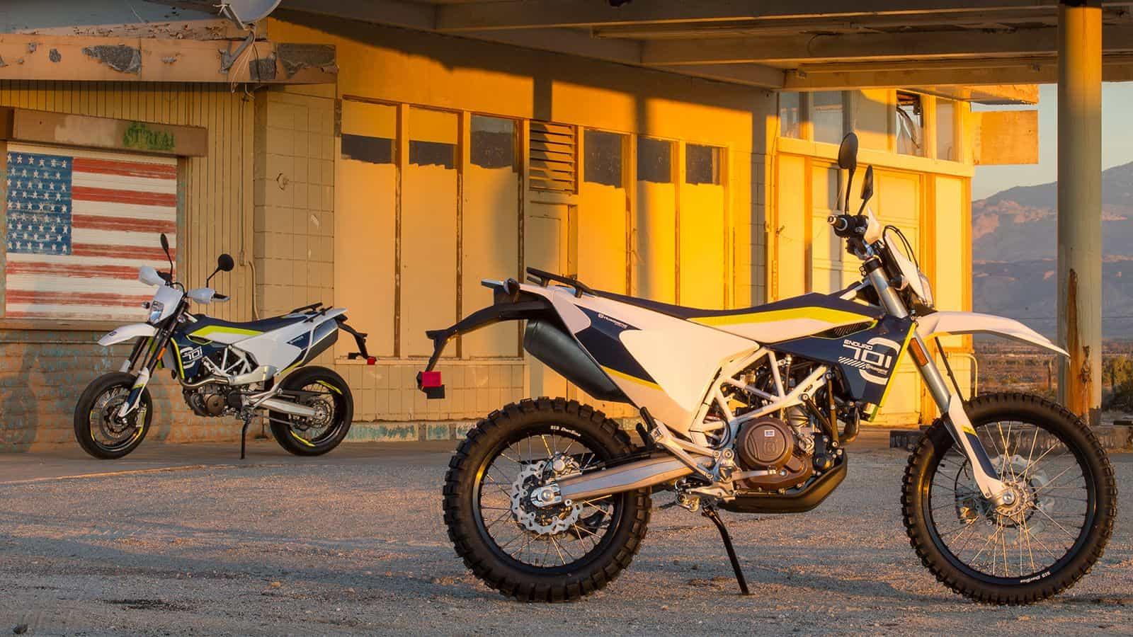 Husqvarna 701 Enduro – dual sport motorcycle