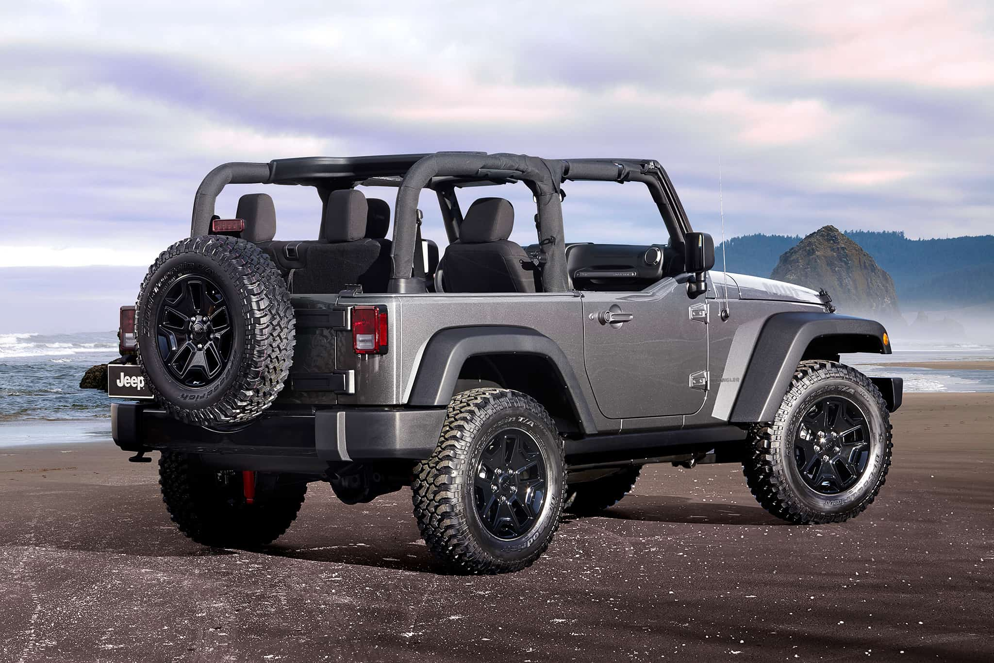 Jeep Wrangler – convertible