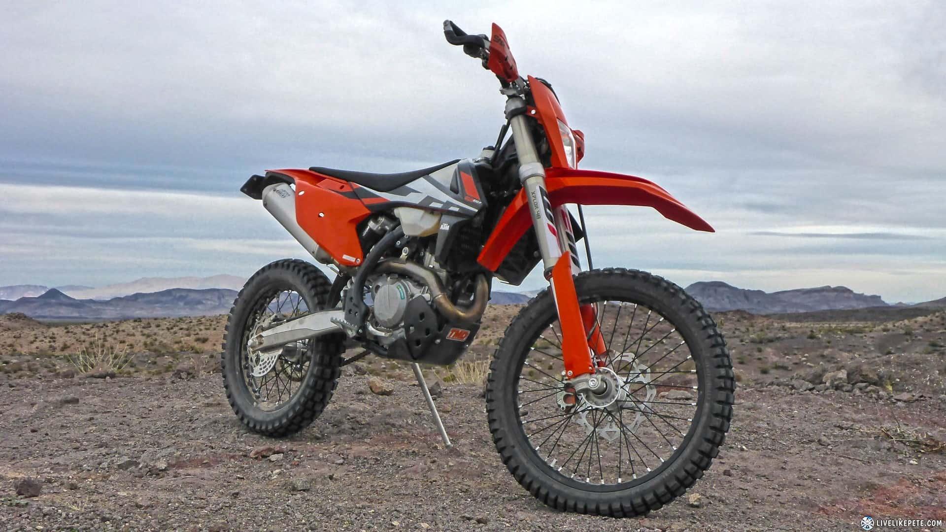 KTM 500 EXC-F – dual sport motorcycle