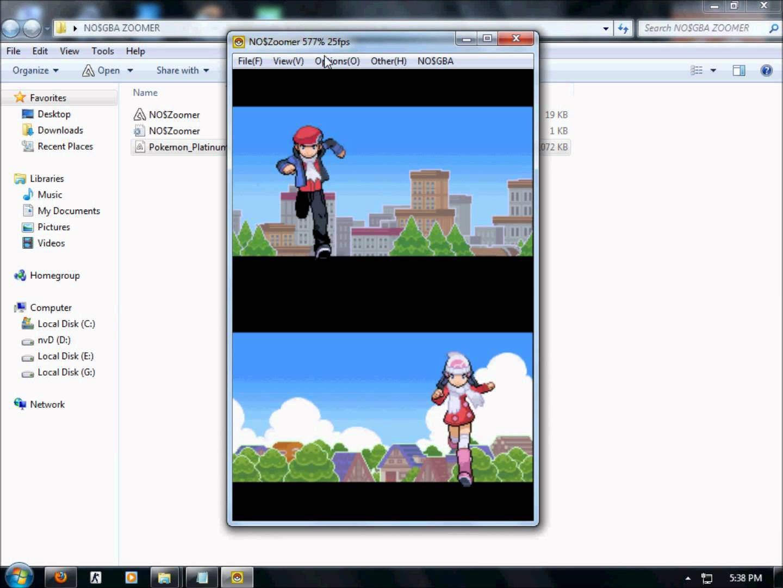 No$GBA – video game emulator