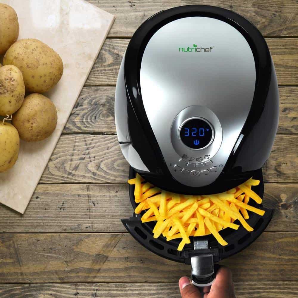 NutriChef Digital Electric Air Fryer