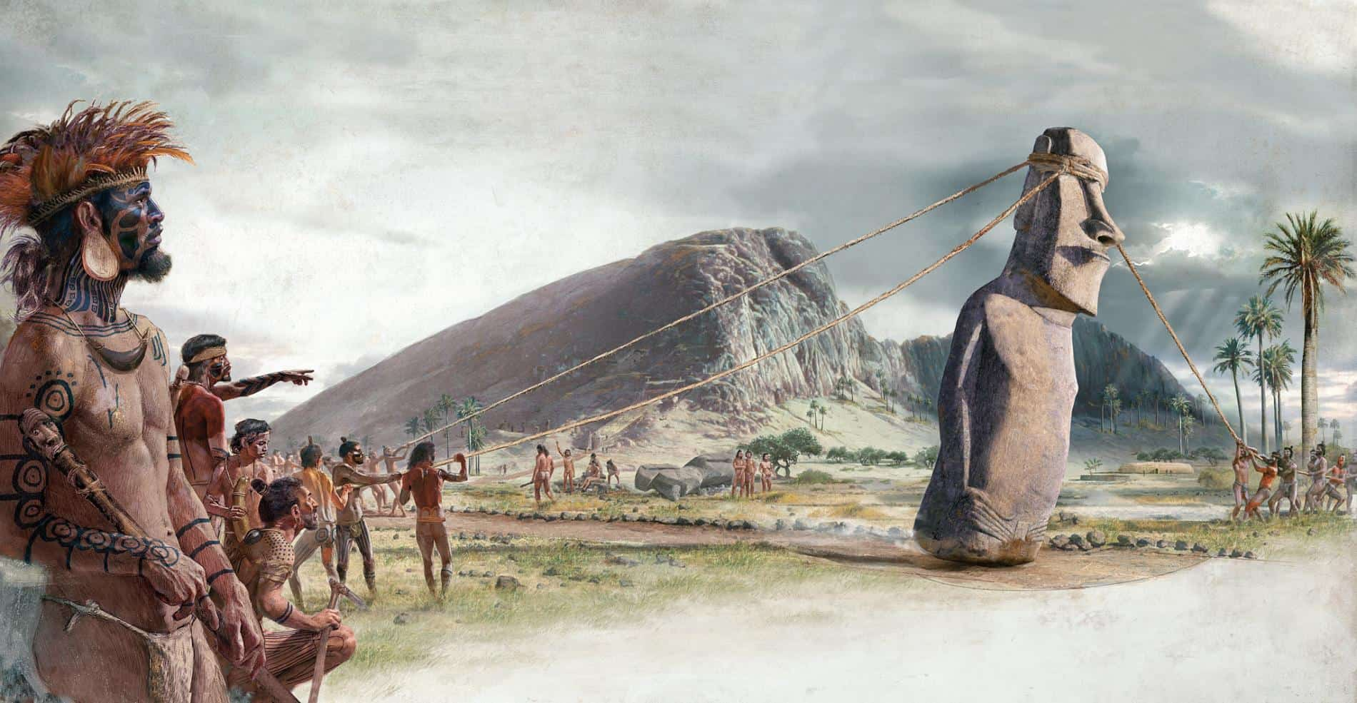 People of Easter Island – lost civilization