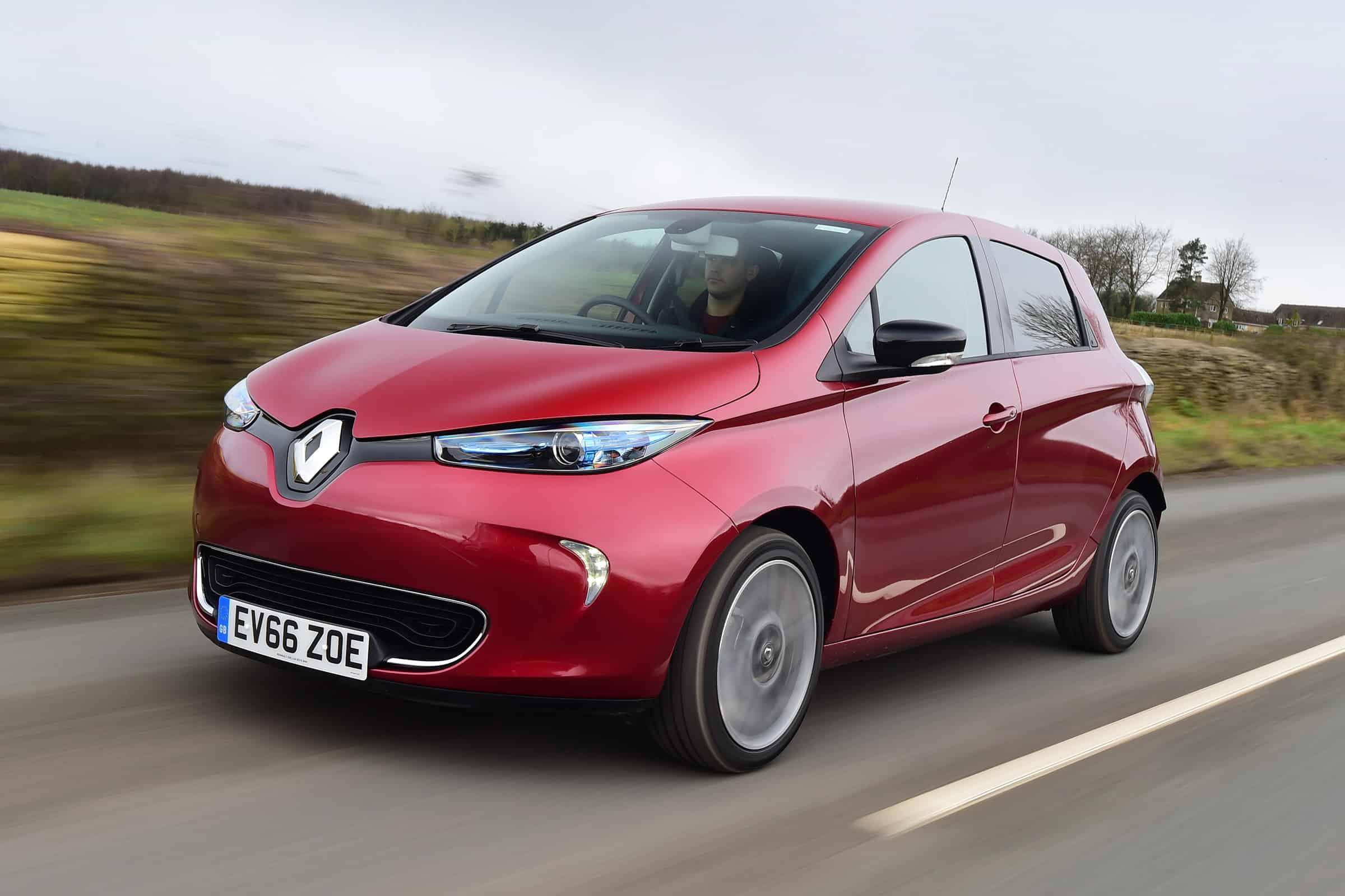 Renault Zoe – electric car