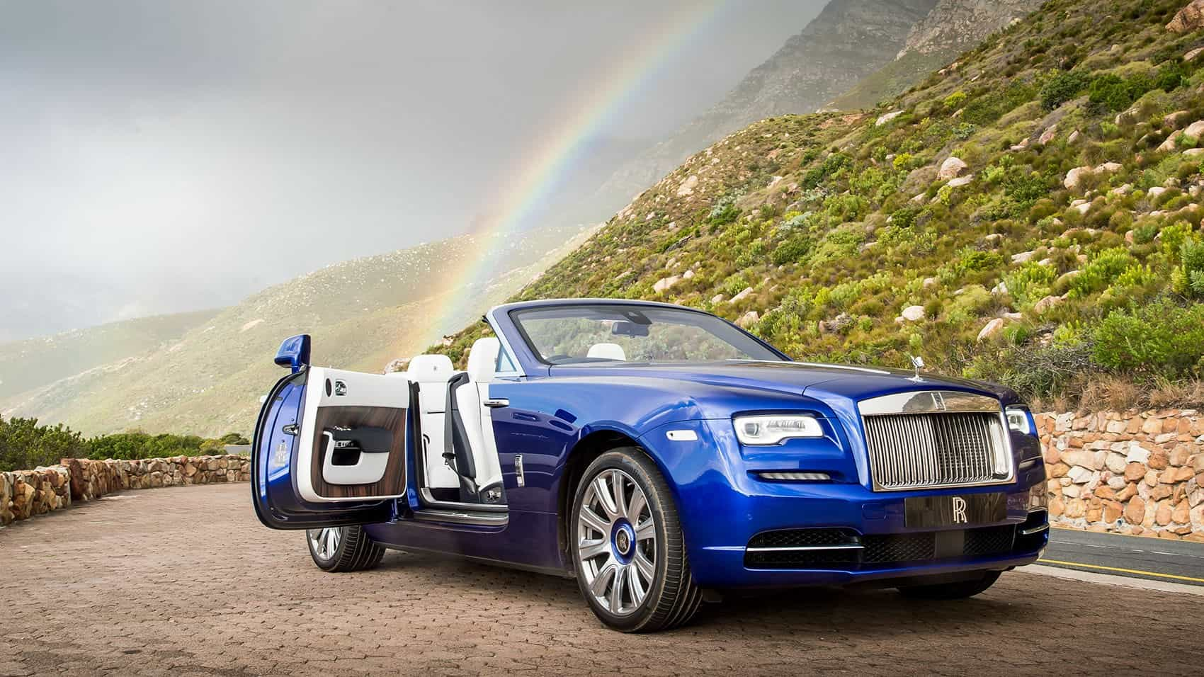 Rolls-Royce Dawn – convertible