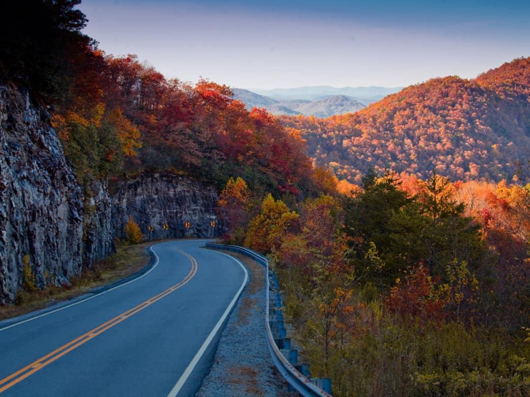 Route 348, Helen, Georgia – road to drive