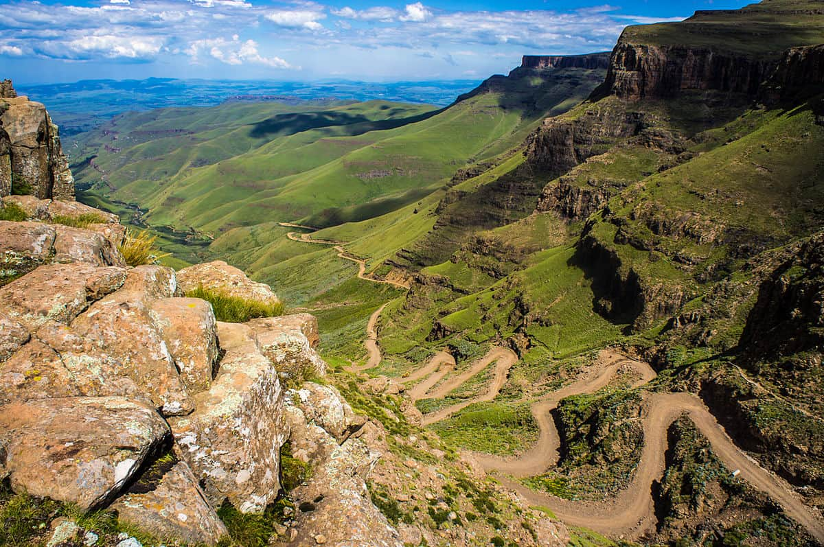 Sani Pass, South Africa – road to drive
