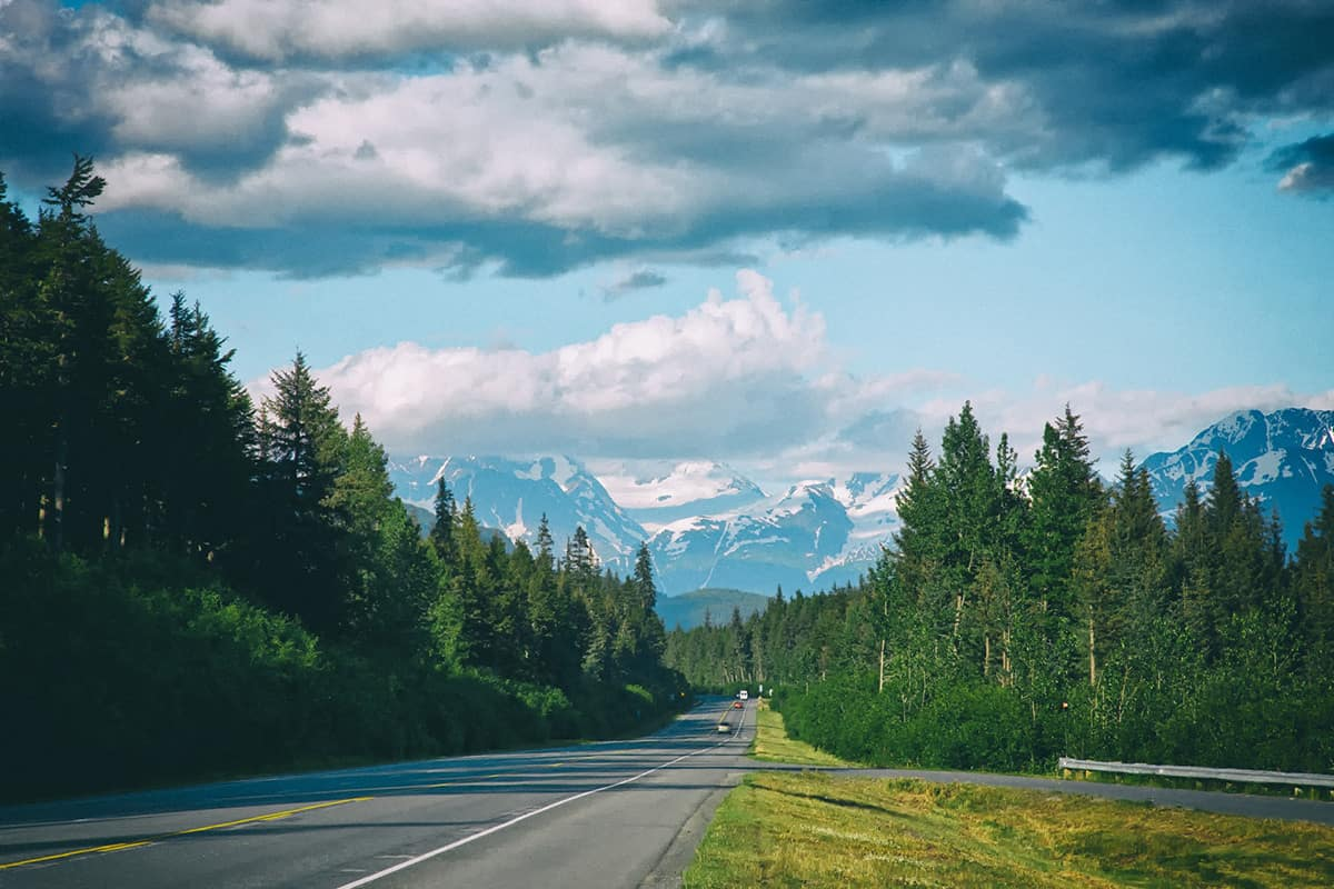 Seward Highway, Alaska – road to drive