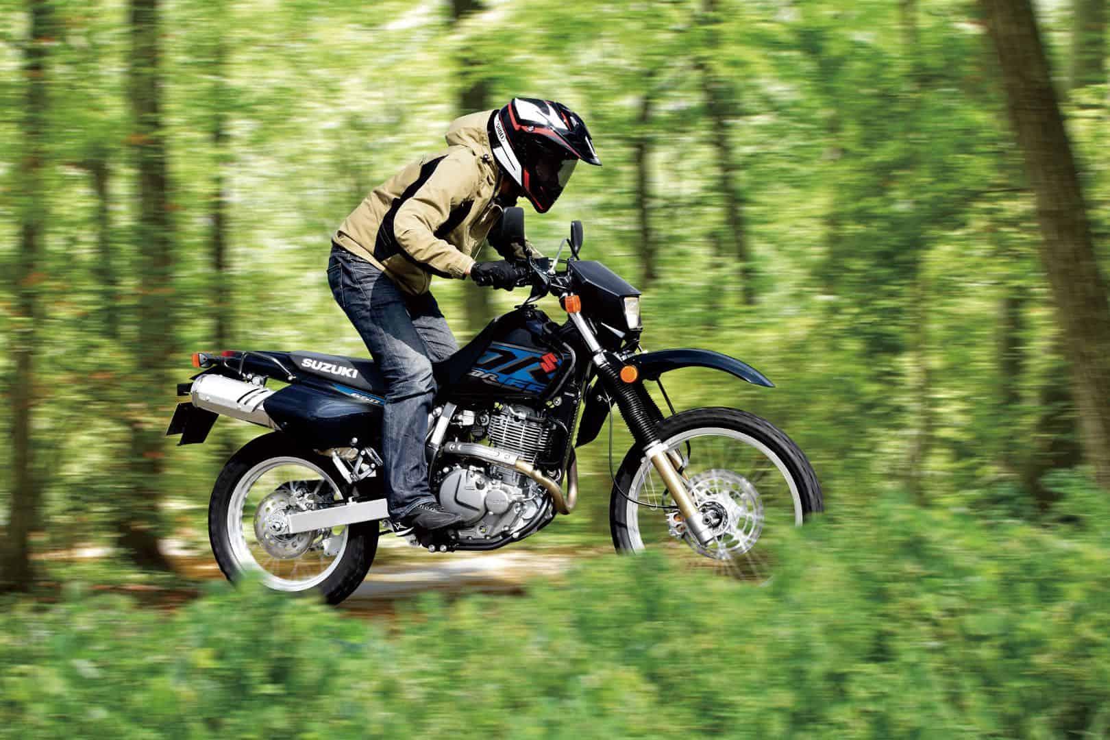 SuzukiDR650S – dual sport motorcycle
