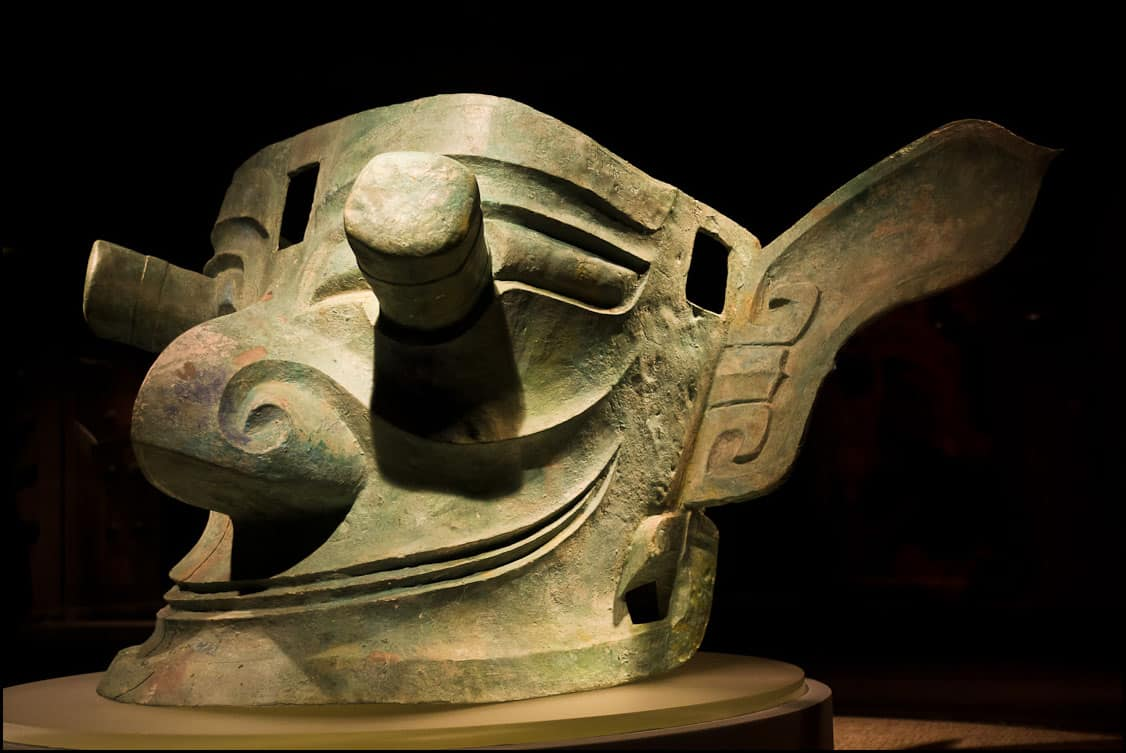 The Sanxingdui – lost civilization