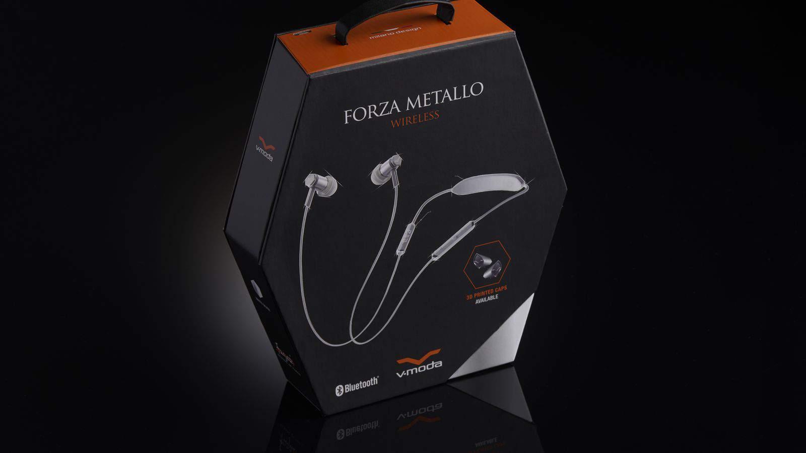 V-Moda Forza Metallo Wireless Bluetooth Earbuds