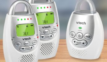 VTech DM221 baby monitor 345x200 Mamas Little Helper: The 8 Best Baby Monitors