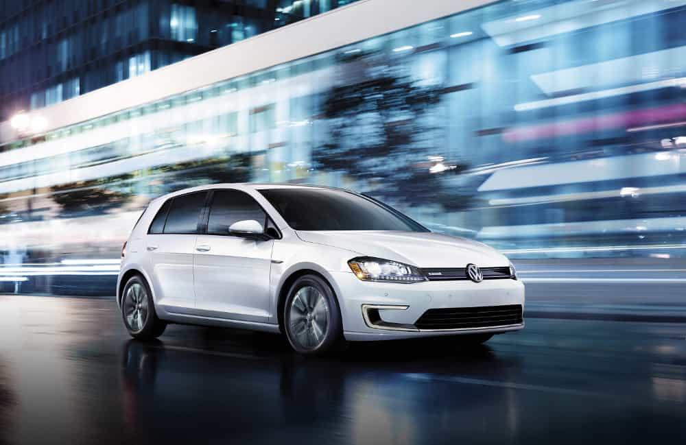 Volkswagen e-Golf – electric car