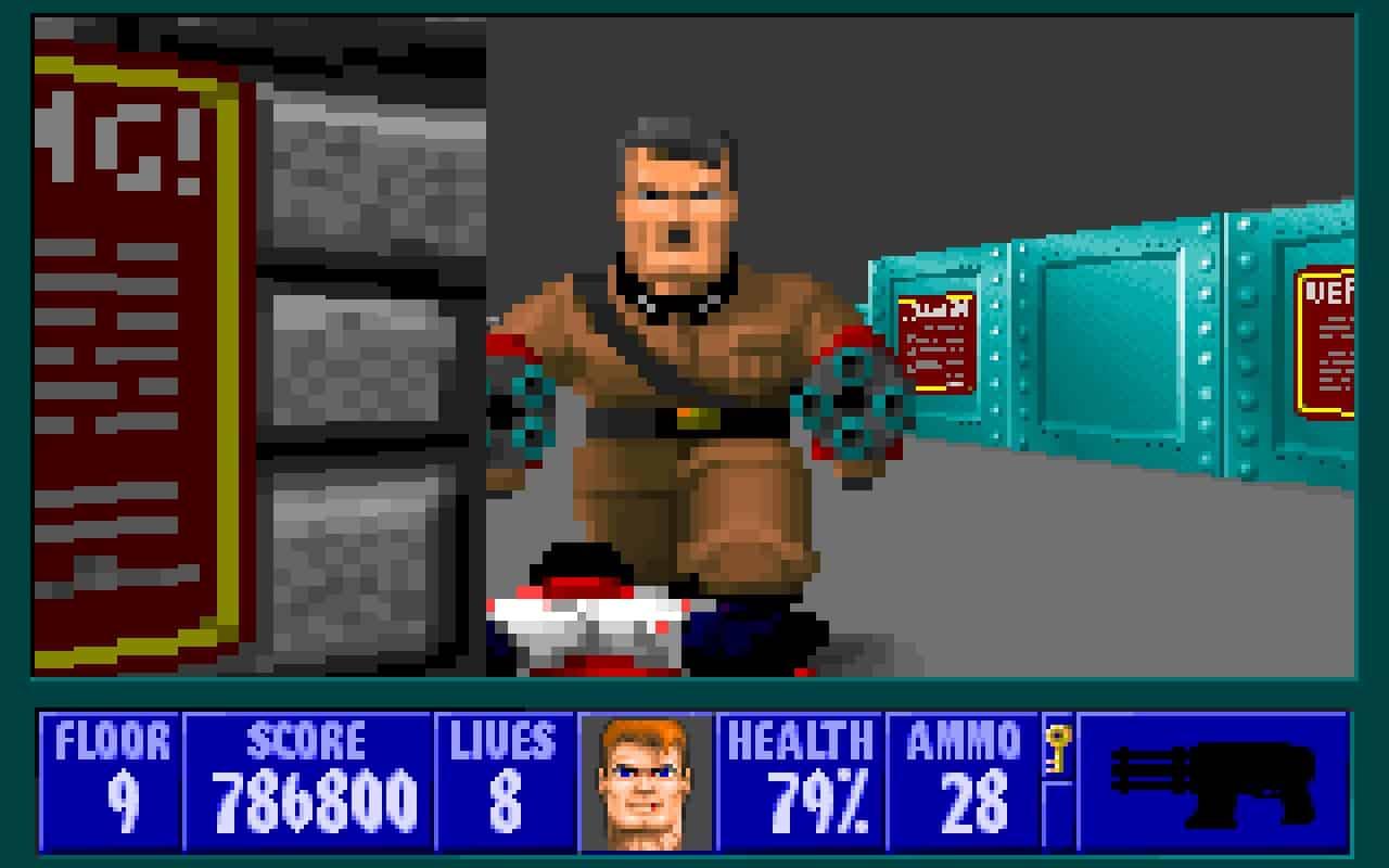 Wolfenstein 3D – important video game