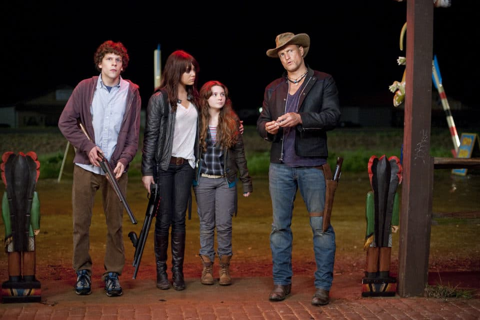 Zombieland zombie movie 960x639 Brain Drain: The 11 Best Zombie Movies
