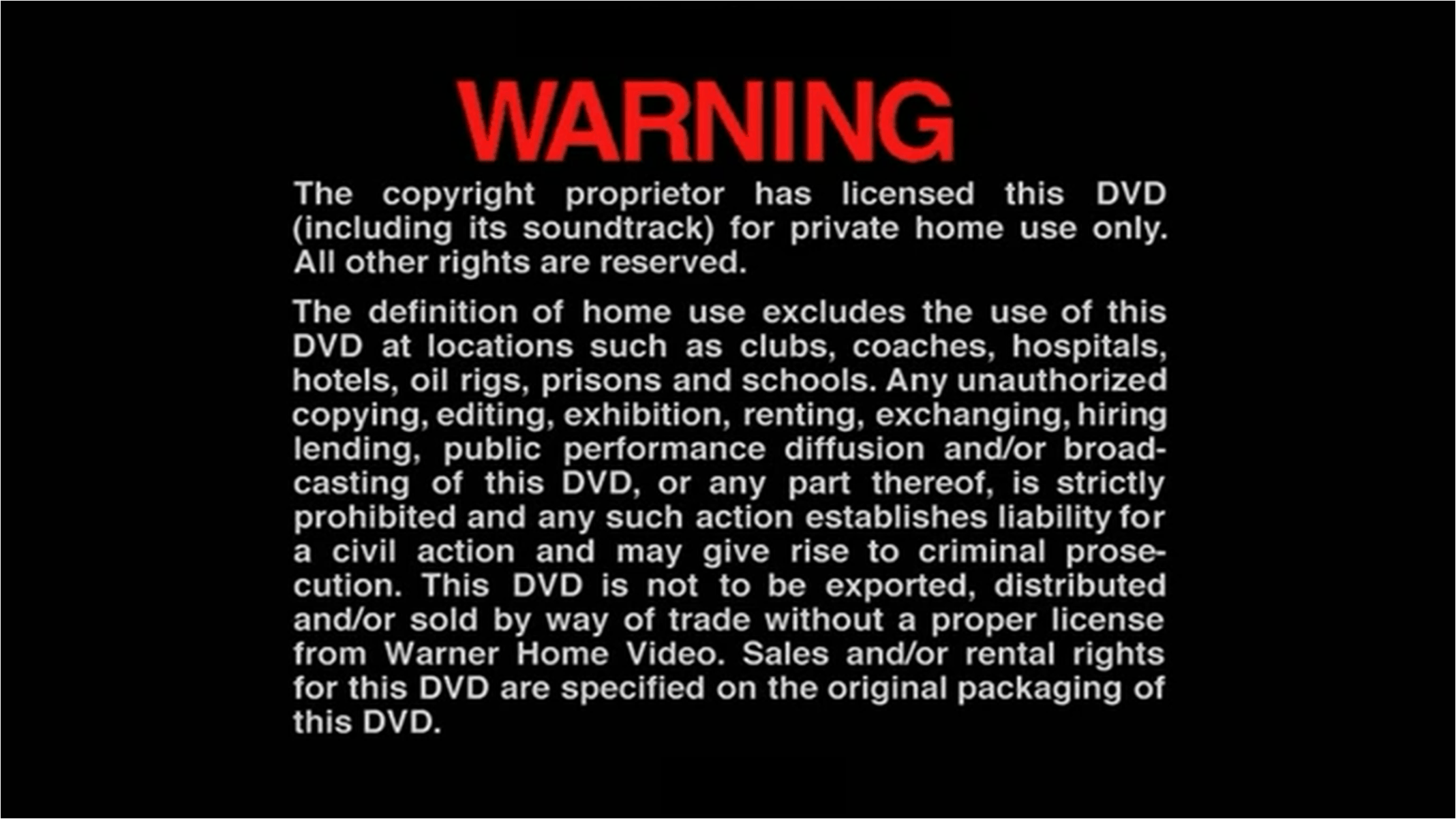 A Note On Copyrights – vhs to dvd