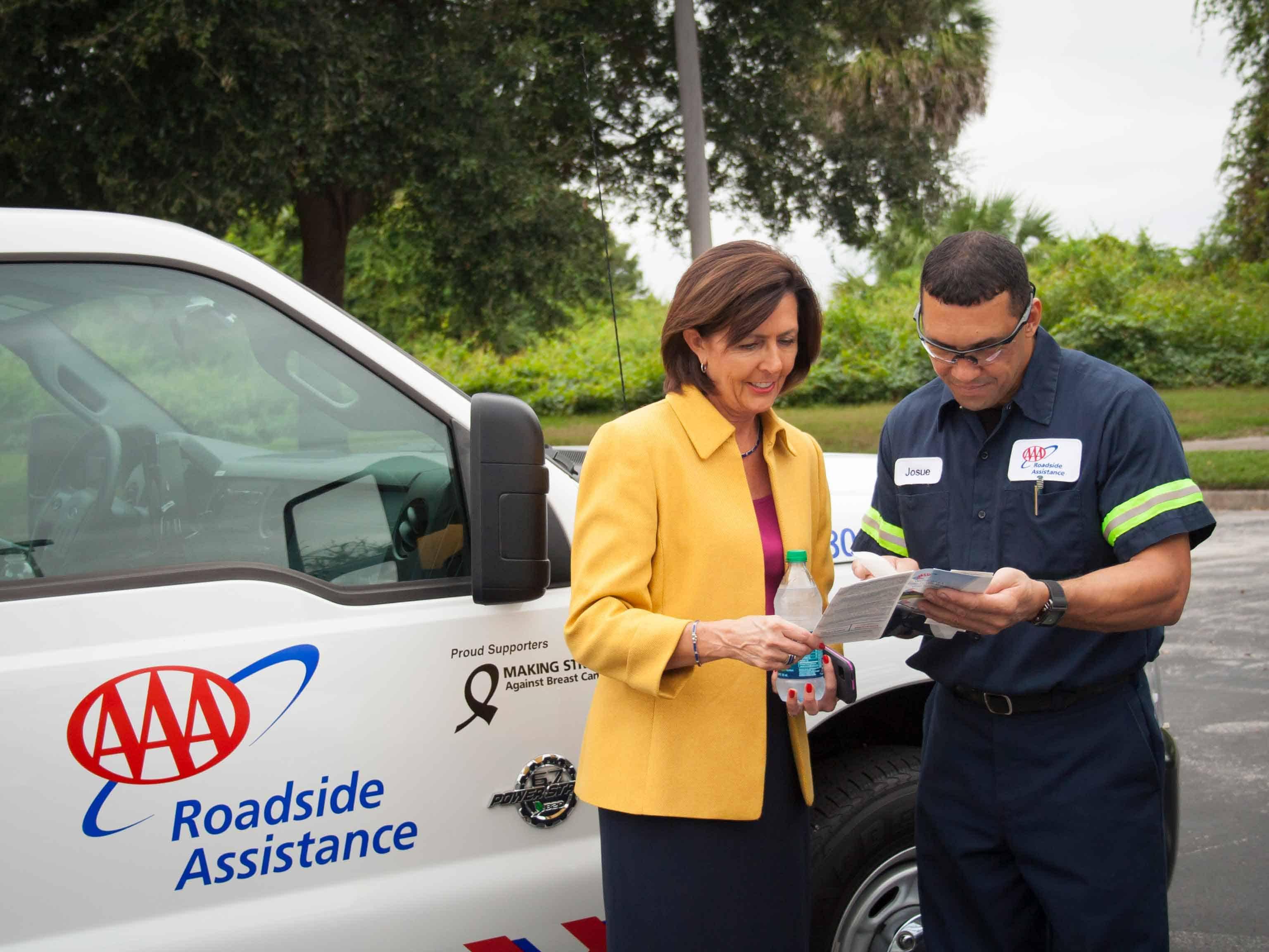 AAA American Automotive Association – roadside assistance