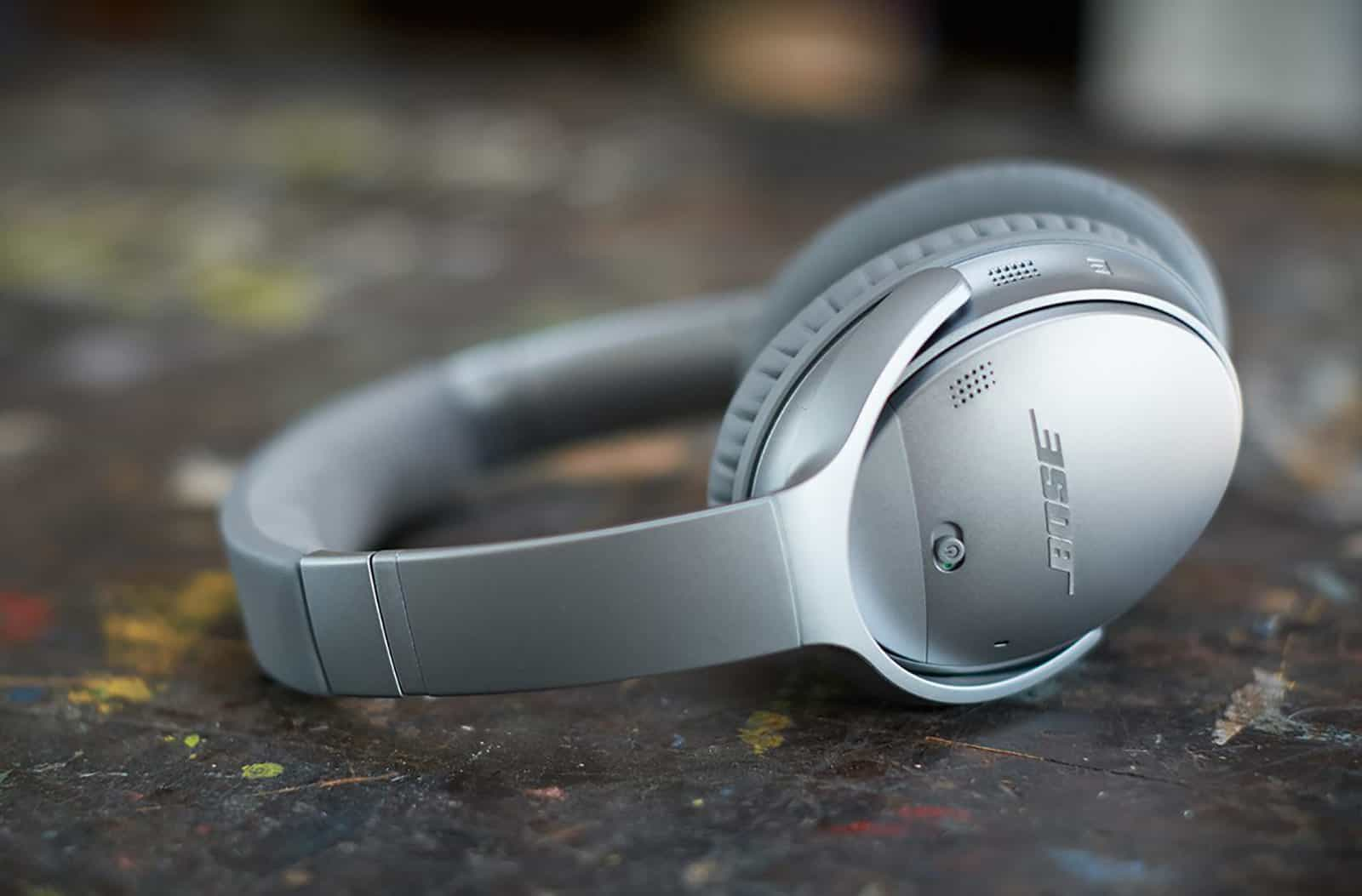 Bose QuietComfort 35 – noise cancelling headphones