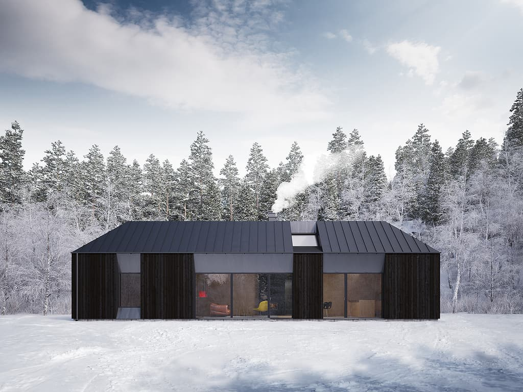 Claesson Koivisto Rune Tind House – prefab house