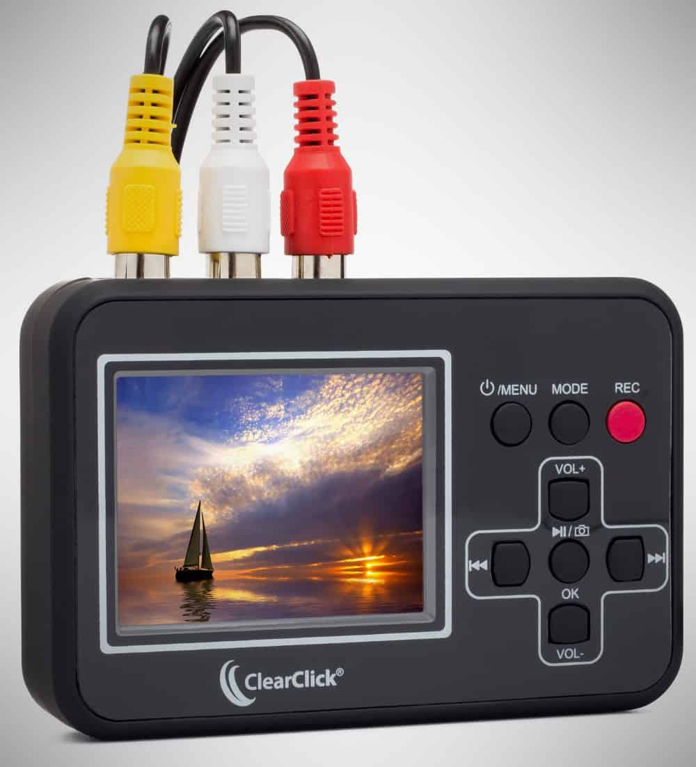 ClearClick Video To Digital Converter – vhs to dvd converter